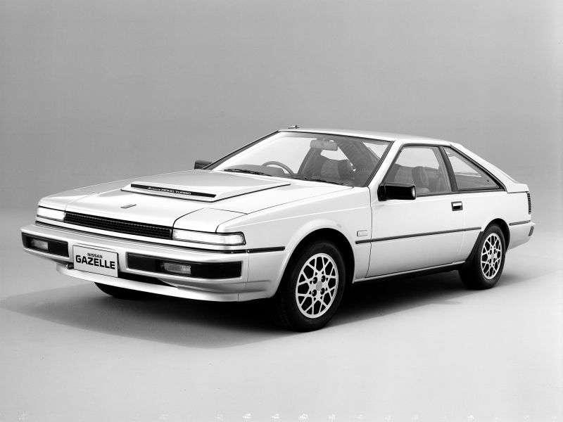 Nissan Gazelle S12liftback 2.0 Turbo MT (1983 1986)