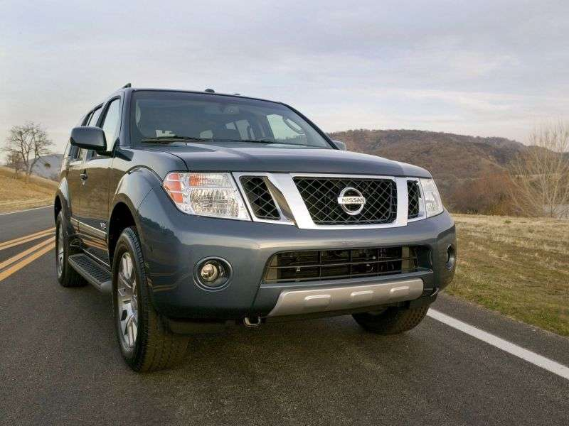Nissan Pathfinder R51 [restyling] 3.0 dCi Turbo AT AWD LE (  BFE) (2013) (2010 – n.) SUV