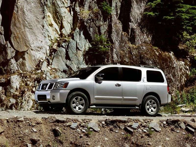 Nissan Armada 1st generation SUV 5.6 AT (2003–2007)