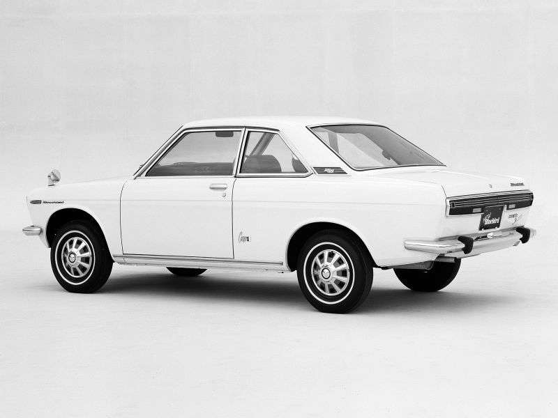 Nissan Bluebird 510 Coupe 1.3 3MT (1967–1972)