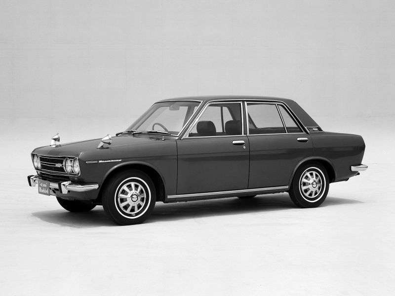 Nissan Bluebird 510sedan 4 dv. 1.6 SSS MT (1968–1970)