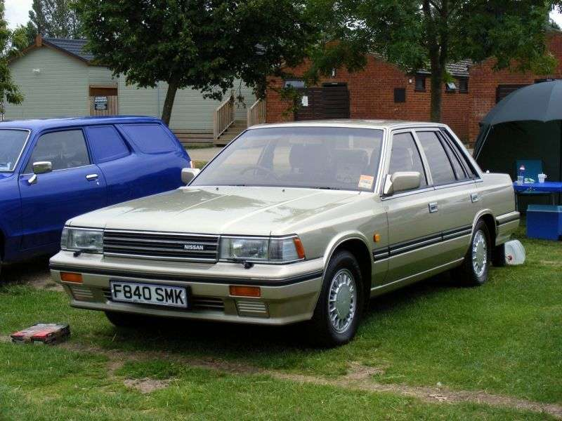 Nissan Laurel C32 [restyling] 2.8 D MT sedan (1986–1990)
