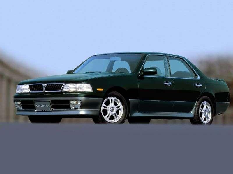 Nissan Laurel C34 [restyled] hardtop 2.8 D AT (1994–1997)