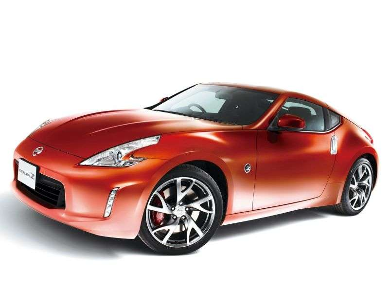 Nissan Fairlady Z Z34 [restyling] coupe 3.7 MT (2012 – n.)