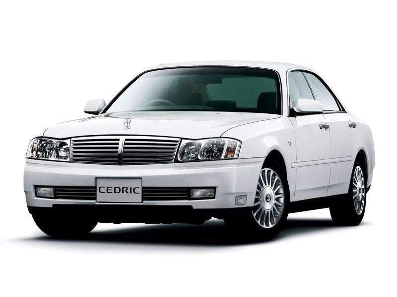 Nissan Cedric Y34sedan 2.5 T AWD AT (2004–2004)