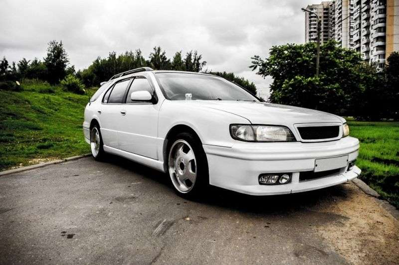 Nissan Cefiro A32 [restyling] wagon 2.5 AT (1997–1998)