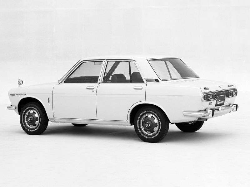 Nissan Bluebird 510sedan 4 dv. 1.6 MT (1968–1972)