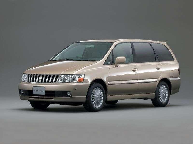 Nissan Bassara JU30 minivan 2.5 TDi 4WD AT (2000–2002)