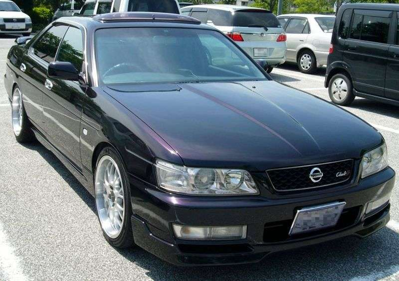 Nissan Laurel C35hardtop 2.5 T AT (1997–2002)