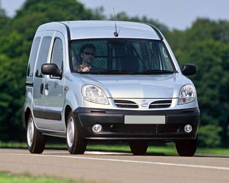 Nissan Kubistar 1st generation 1.5 D MT van (2003–2008)