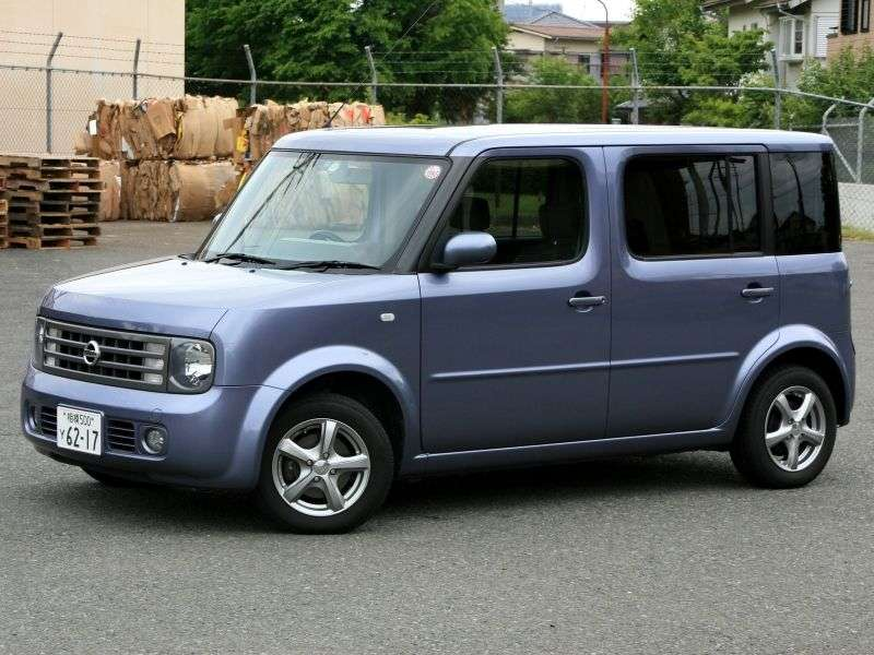 Nissan Cube 2nd generation Cube 3 minivan 1.4 AT (2002–2008)