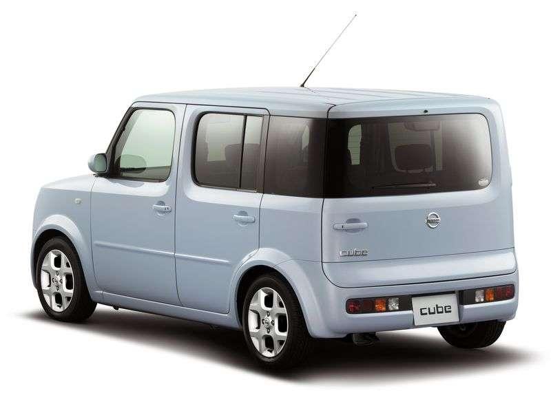 Nissan Cube 2nd generation minivan 5 dv. 1.4 AT (2002–2008)