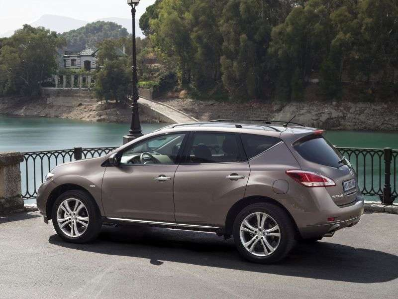 Nissan Murano Z51 [restyled] crossover 3.5 CVT AWD LE R (2012) (2010 – current century)