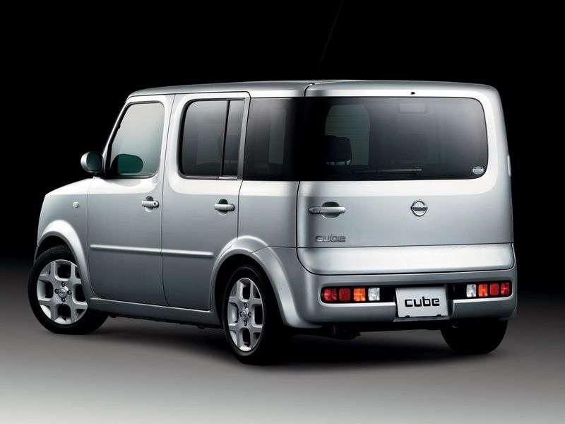 Nissan Cube 2nd generation minivan 5 dv. 1.4 AT 4WD (2002–2008)