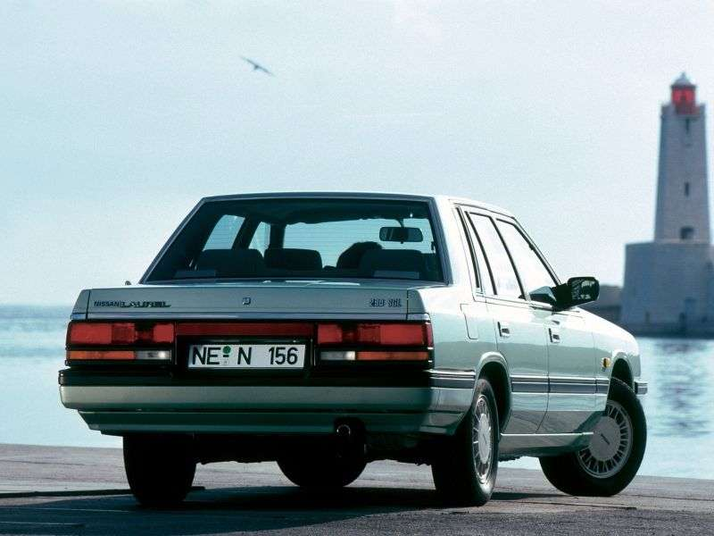 Nissan Laurel C32 sedan 2.0 T MT (1984 1986)
