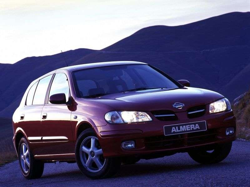 Nissan Almera N16hatchback 5 dv. 1.8 AT (2000–2003)