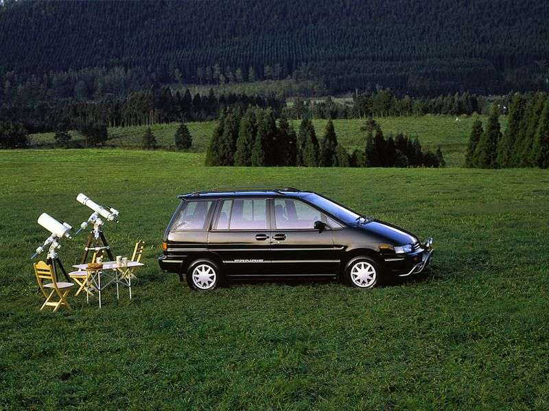 Nissan Prairie M11 minivan 2.4 MT 4x4 (1992–1998)