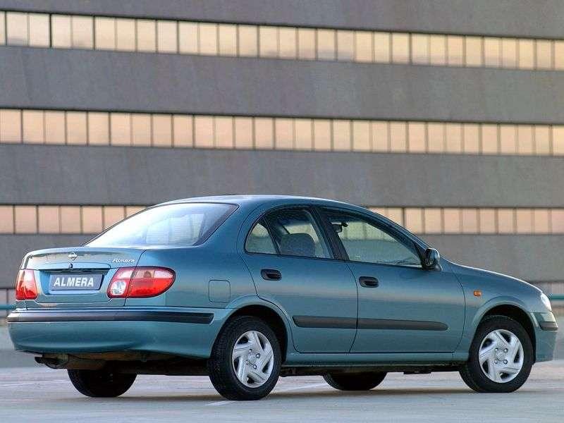 Nissan Almera N16sedan 1.5 MT (2000–2003)