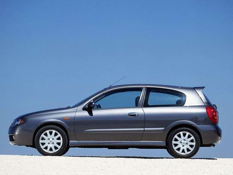 Nissan Almera N16 [restyling] 3 bit hatchback 1.5 DCi MT (2003–2006)