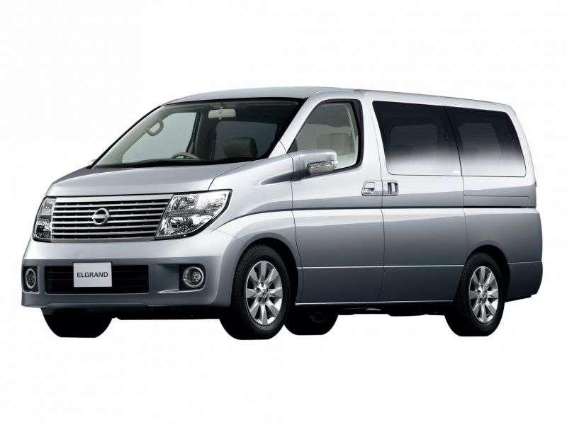 Nissan Elgrand E51ME51 minivan 2.5 AT 4WD (2004–2010)
