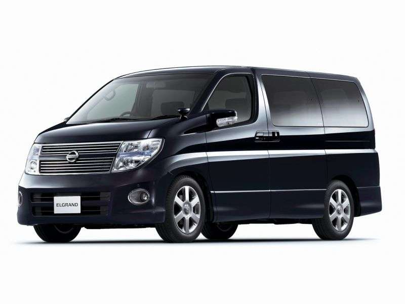 Nissan Elgrand E51MNE51 minivan 3.5 AT (2008–2010)