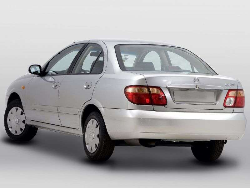 Nissan Almera N16 [restyling] sedan 1.5 MT (2003–2006)