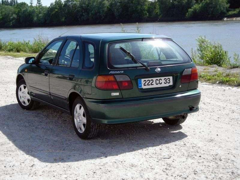 Nissan Almera N15hatchbek 5 dv. 1.6 AT (1995–2000)
