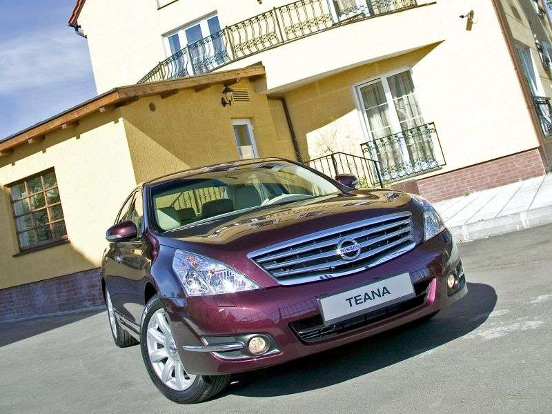 Nissan Teana J32sedan 2.5 CVT AWD Elegance + Four (2012) (2008 – current century)