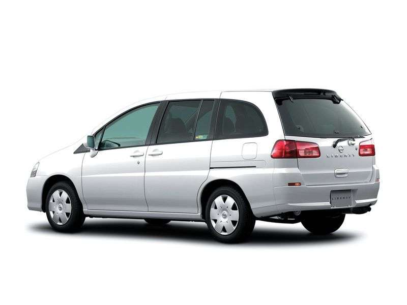 Nissan Liberty M12 minivan 2.0 AT 4WD (2002–2004)