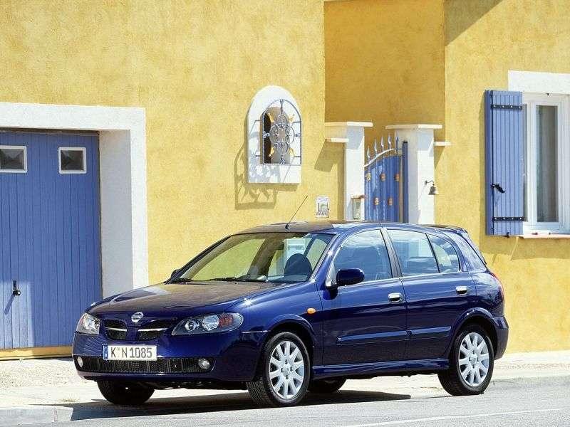 Nissan Almera N16 [restyling] 5 dv hatchback 1.5 DCi MT (2003–2006)