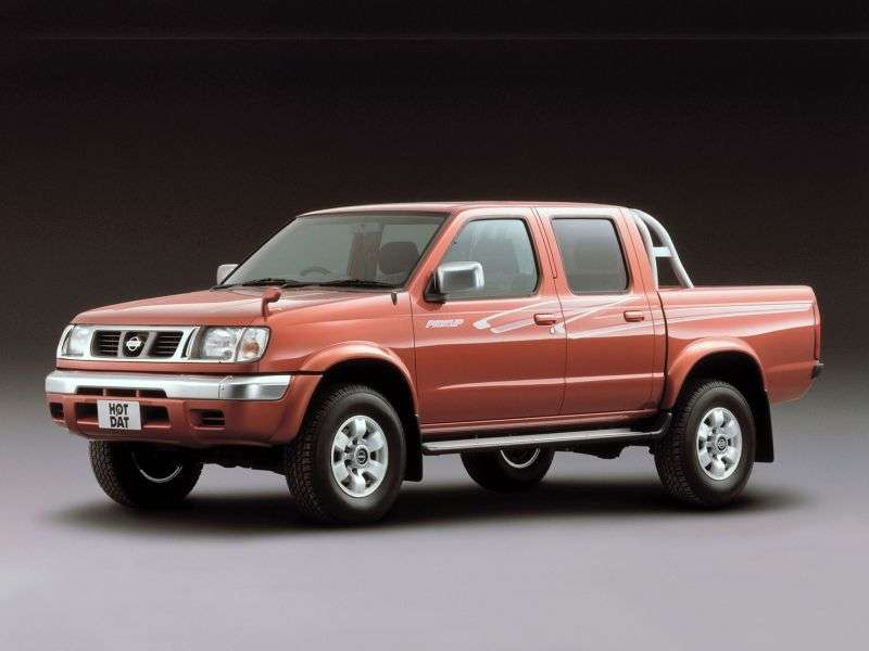 Nissan Pick UP D22Crew Cab pick up 4 bit. 3.2 D AWD AT (1997–2001)