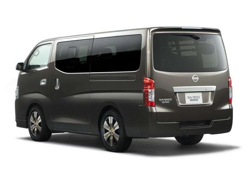 Nissan NV350 E26Caravan minibus 2.5 AT L2H2 Combi (2012 obecnie)