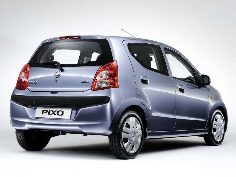 Nissan Pixo 1st generation hatchback 1.0 MT (2008 – n.)