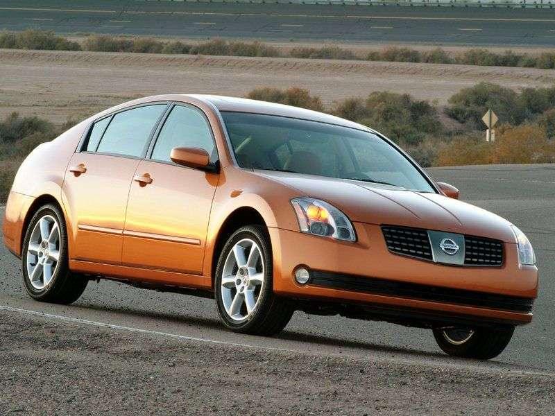 Nissan Maxima A34sedan 3.5 MT (2004–2006)