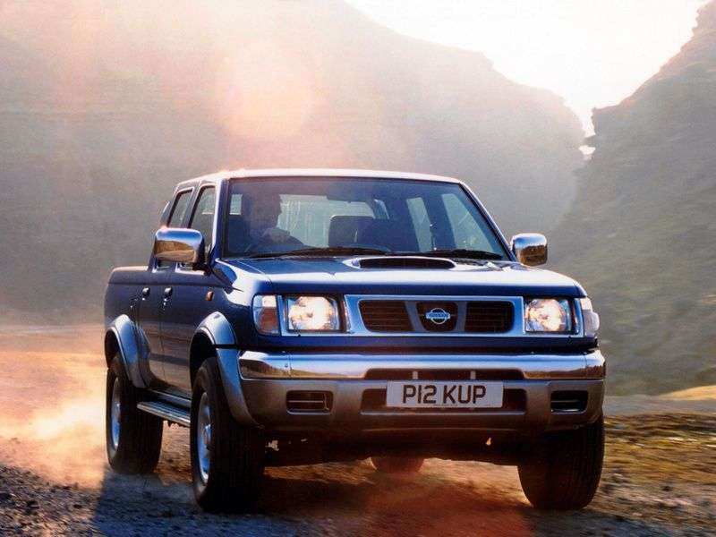 Nissan Pick UP D22Crew Cab pick up 4 bit. 2.4 2WD AT (1999–2001)