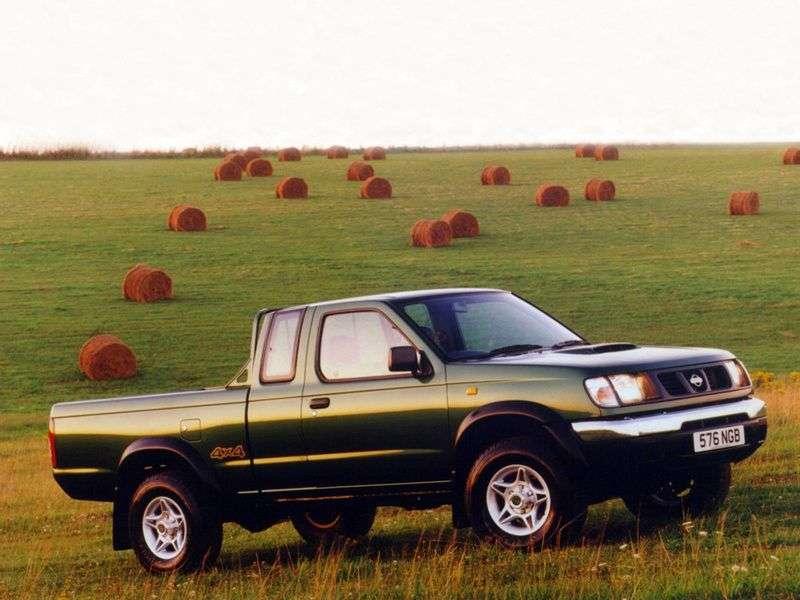 Nissan Pick UP D22King Cab pickup 2 doors 2.4 2WD AT (1999–2001)