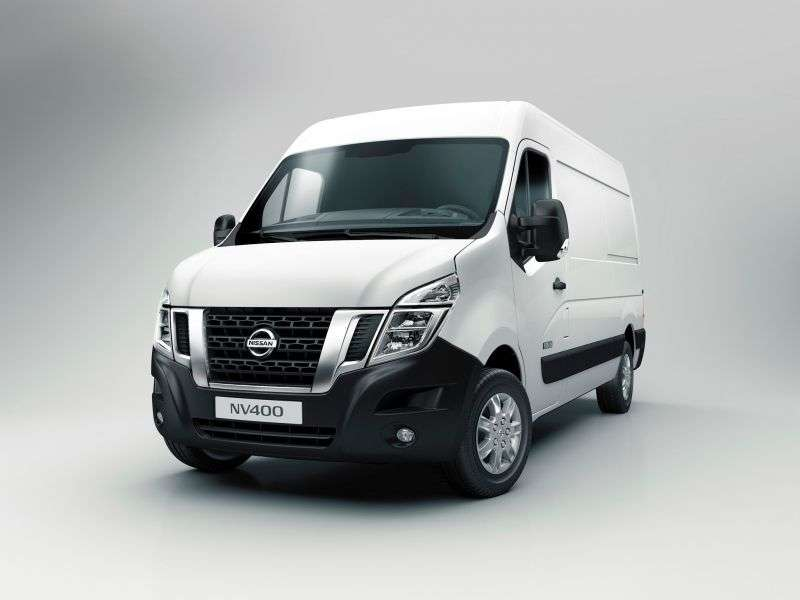 Nissan NV400 1st generation van 2.3 dCi MT RWD L3H2 (2010 – current century)