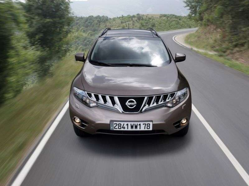 Nissan Murano Z51 Crossover 2.5 DCI AT (2008–2010)
