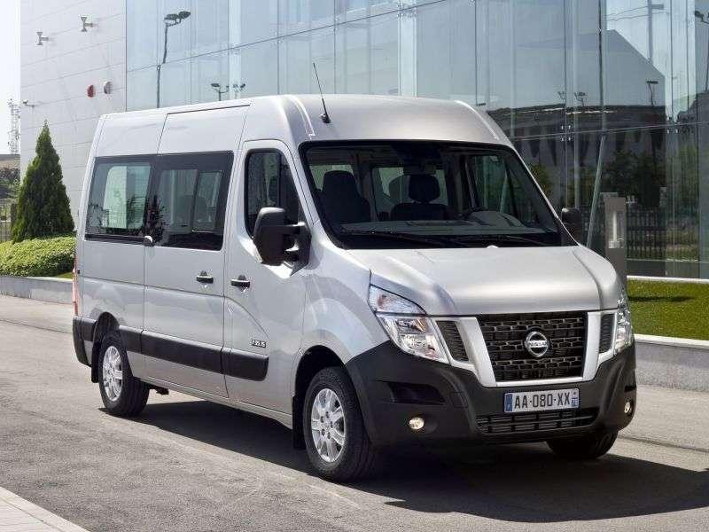 Nissan NV400 1st generation minibus 4 doors 2.3 dCi MT FWD L2H2 (2011 – n. In.)