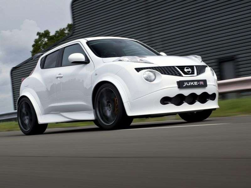 Nissan Juke YF15R 5 bit crossover. 3.8 AMT (2012 – current century)