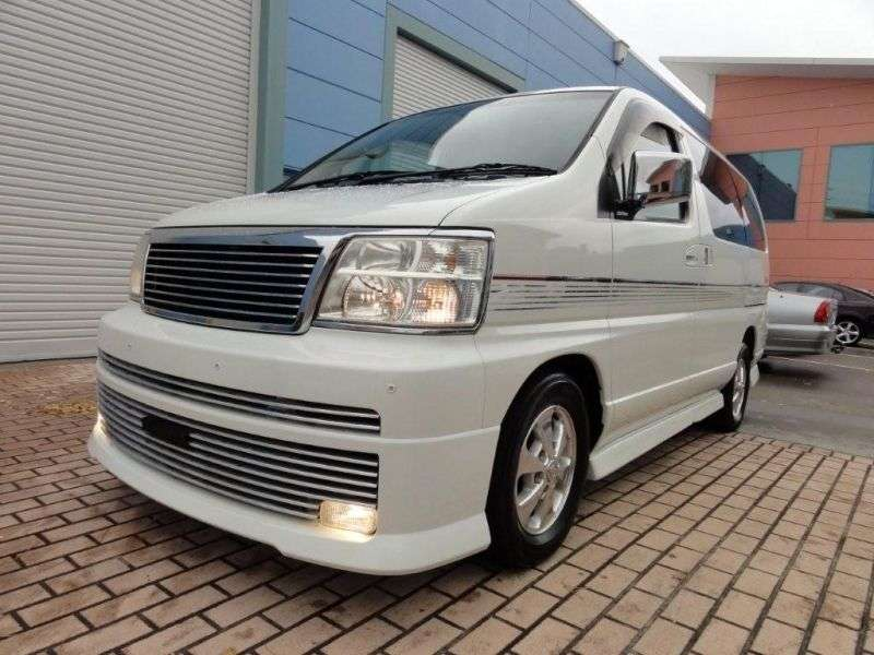 Nissan Elgrand E50Rider minivan 5 dv. 3.3 AT (1999–2000)