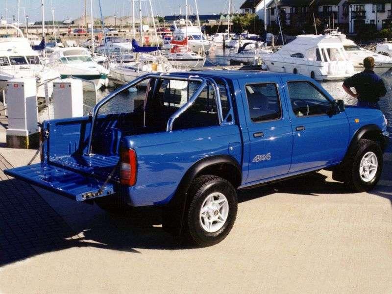 Nissan Pick UP D22Crew Cab pick up 4 bit. 2.4 AWD MT (1997–2001)