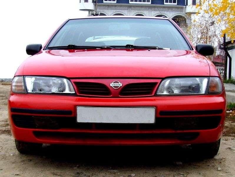 Nissan Almera N15sedan 1.6 AT (1995–2000)