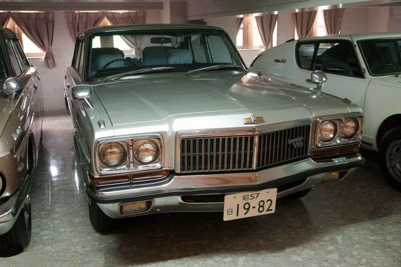 Nissan President H250 [restyling] sedan 3.0 AT (1977–1982)