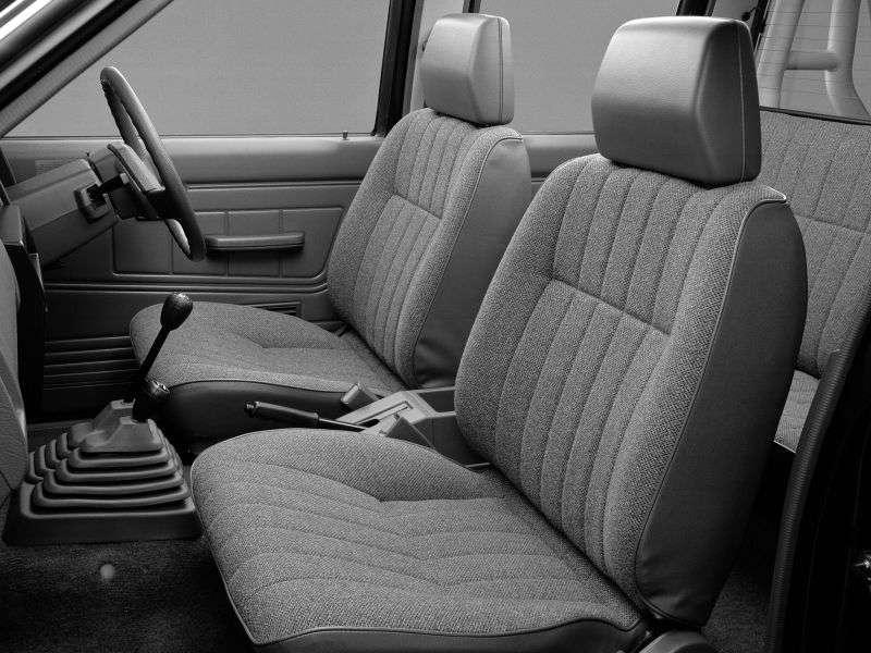 Nissan Datsun D21Double Cab pickup 2.7 TD MT 4WD (1992–1996)