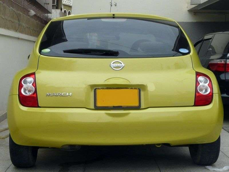 Nissan March k12 [restyling] 5 dv hatchback 1.2 MT (2005–2007)