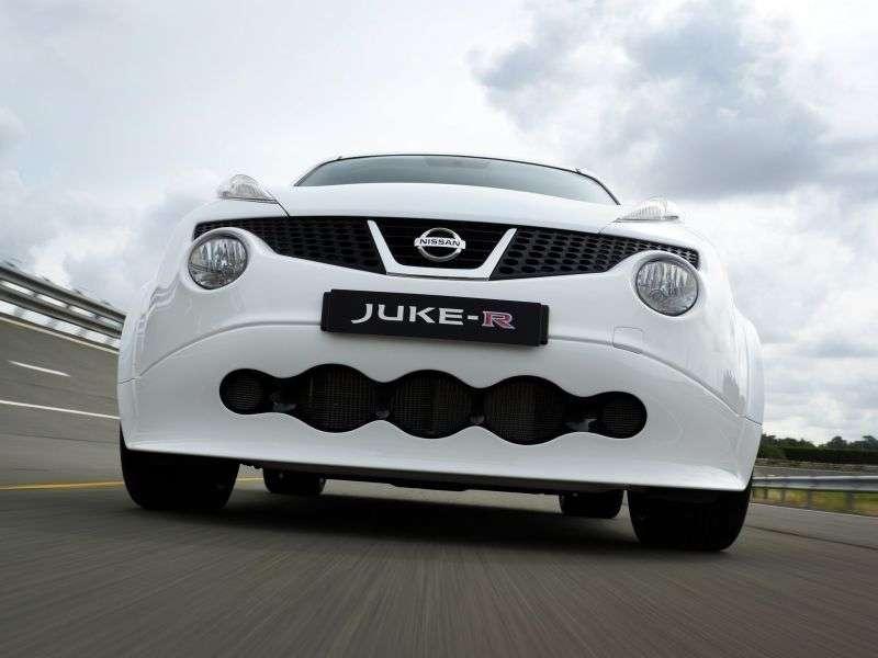 Nissan Juke YF15R crossover 5 drzwiowy 3,8 AMT (2012 obecnie)