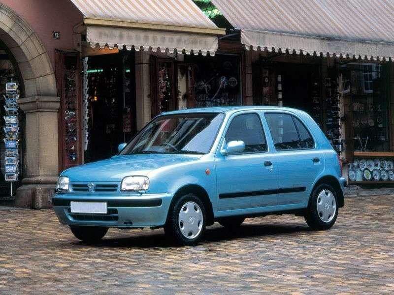 Nissan March K11htchbek 5 dv. 1.3 MT (1992–1997)