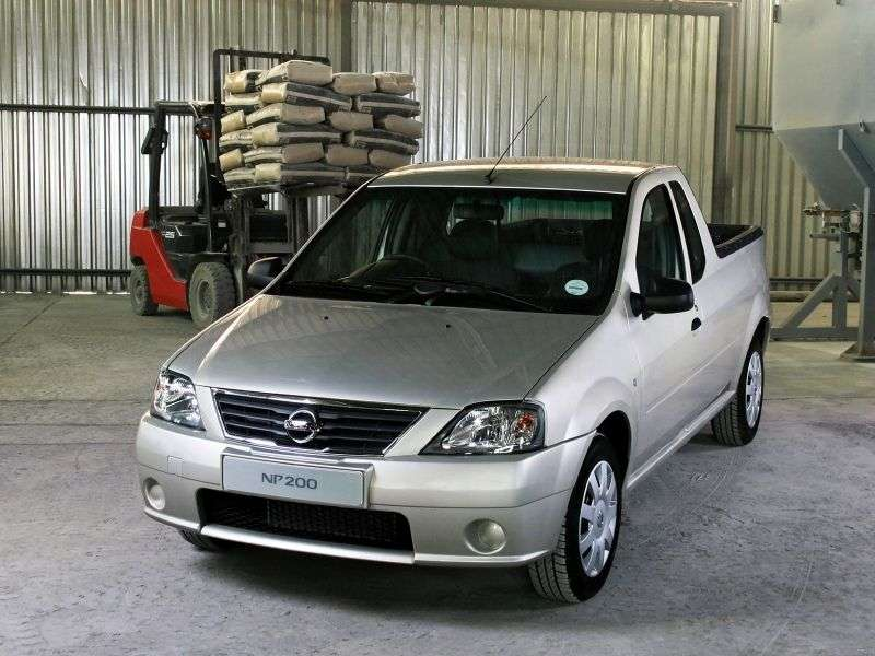 Nissan NP200 1st generation pickup 1.6 MT (2008–2009)