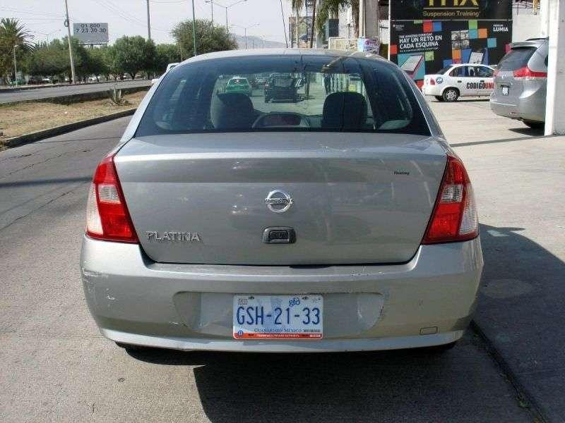Nissan Platina 1st generation [restyled] 1.6 MT sedan (2004–2008)